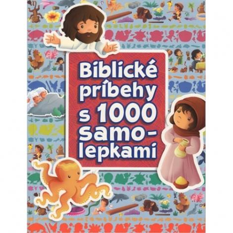 Biblické príbehy s 1000 samolepkami -