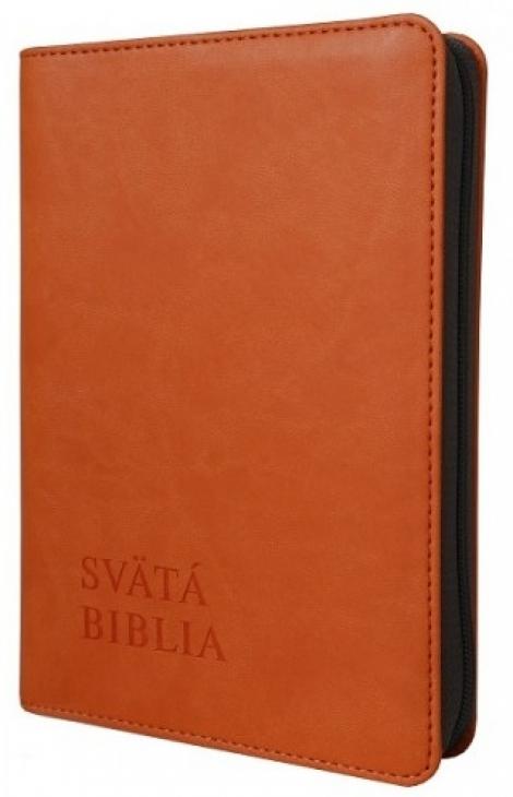 Svätá Biblia / Roháček vrecková - oranžová -