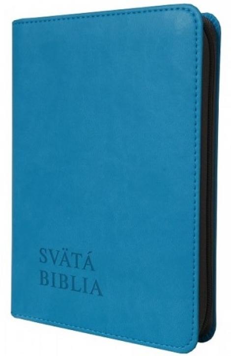 Svätá Biblia / Roháček vrecková - tyrkysová -