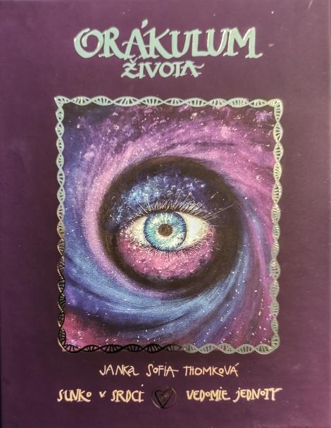 Orákulum života (karty + knížka + maľované vrecko + škatuľka) - Janka Sofia Thomková, karty Slnko v srdci, Vedomie jednoty
