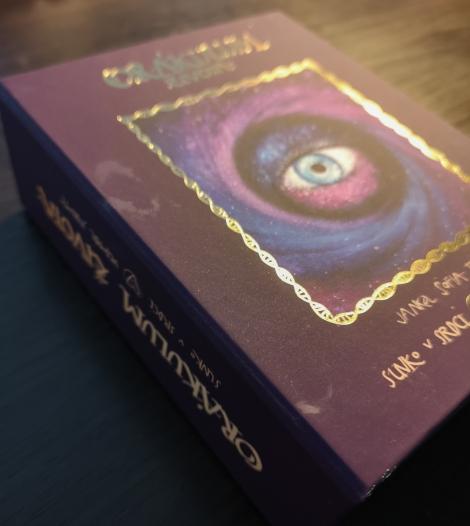 Orákulum života (karty + knížka + maľované vrecko + škatuľka)