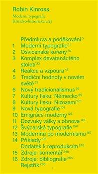 Moderní typografie