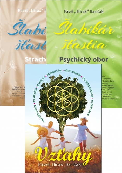 Vzťahy + Šlabikár šťastia 4 a 5 - Kolekcia kníh