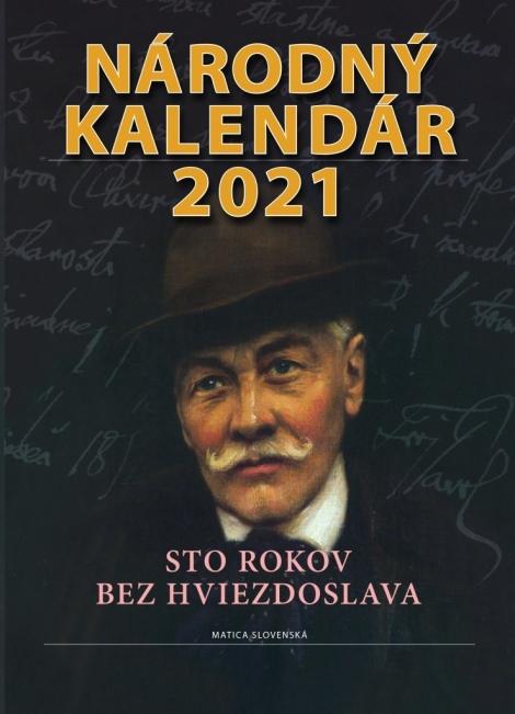 Národný kalendár 2021 - Sto rokov bez Hviezdoslava