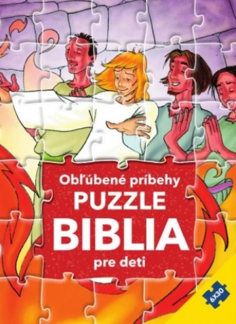 Obľúbené príbehy - Puzzle Biblia pre deti -