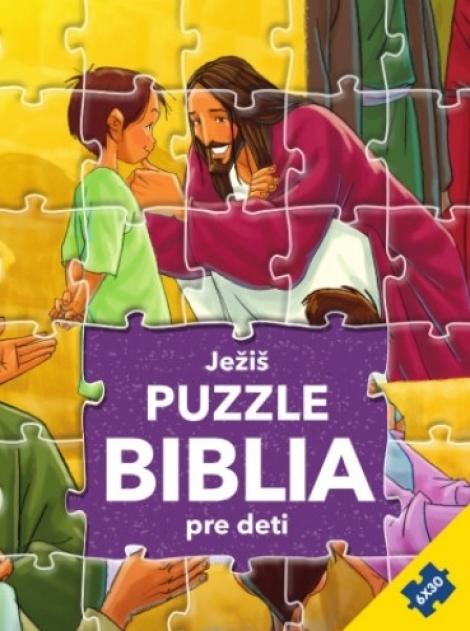 Ježiš - Puzzle Biblia pre deti -
