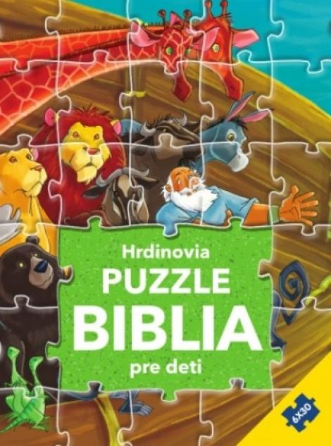 Hrdinovia - Puzzle Biblia pre deti -