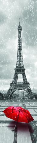 3D záložka - Paris in red