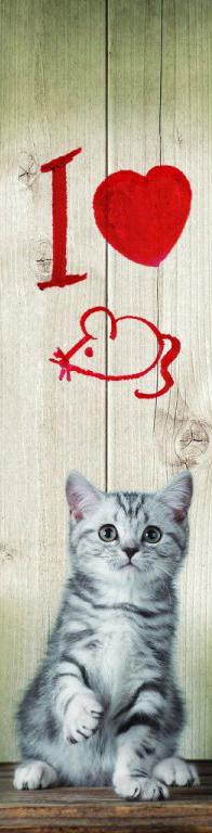 3D záložka - I love Mice