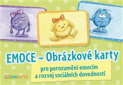 Emoce - Obrázkové karty (1x kniha, 1x sada karet)