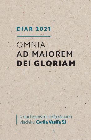 Diár 2021 - Omnia ad maiorem Dei gloriam s duchovnými inšpiráciami vladyku Cyrila Vasiľa SJ