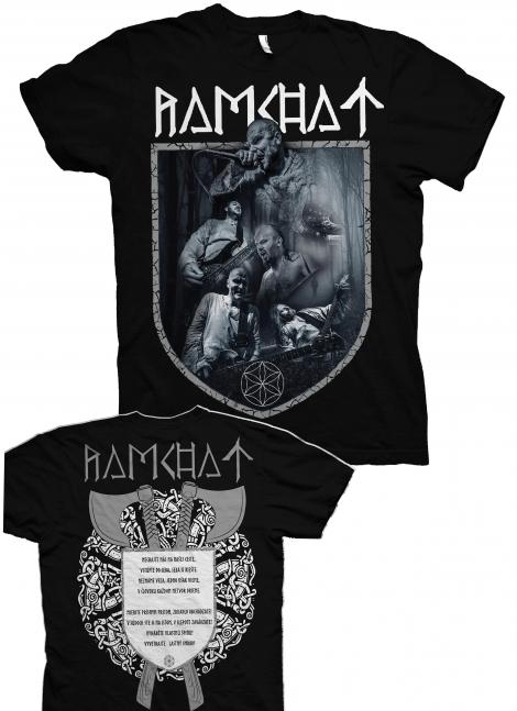 Ramchat 01 - Kapela 2020 - čierne tričko