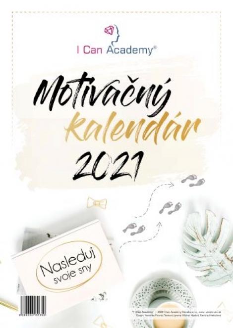 Motivačný kalendár 2021 - Nasleduj svoje sny