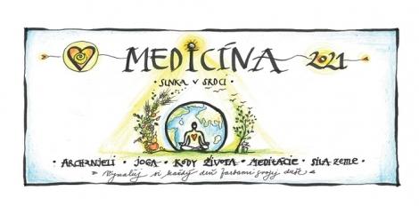 Medicína Slnka v Srdci - Stolový kalendár 2021 -