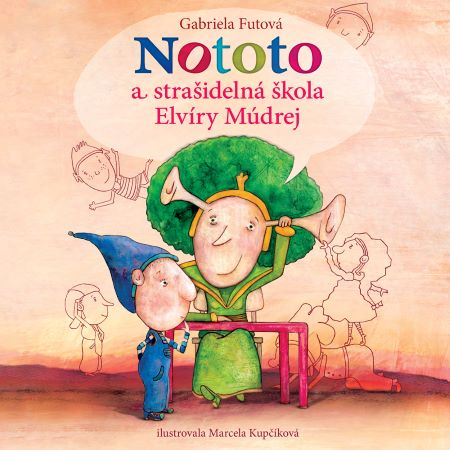 Nototo astrašidelná škola Elvíry Múdrej CD (audiokniha) -