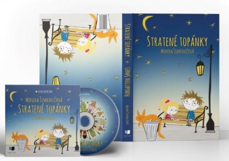 Stratené topánky - balíček - kniha + audiokniha a nálepky ZDARMA