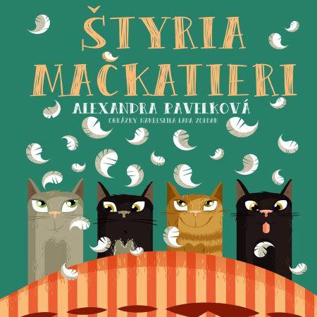 Štyria mačkatieri CD (audiokniha) -
