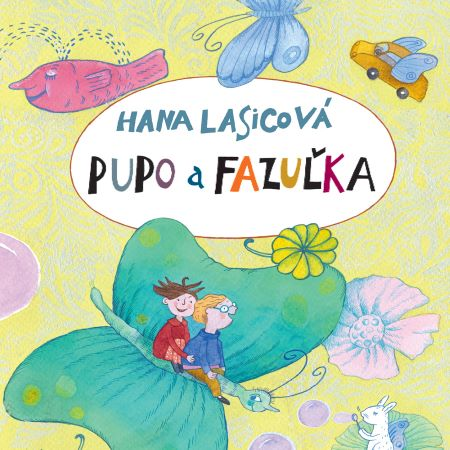 Pupo a Fazuľka CD (audiokniha) -