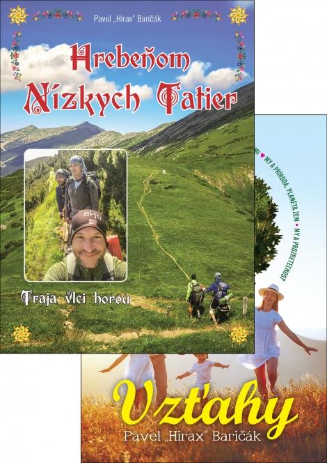 Vzťahy + Hrebeňom Nízkych Tatier - 2 knihy za lepšiu cenu