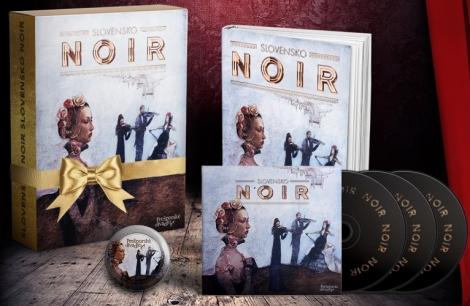 Slovensko NOIR - darčekový set (kniha+CD audiokniha+magnetka) -