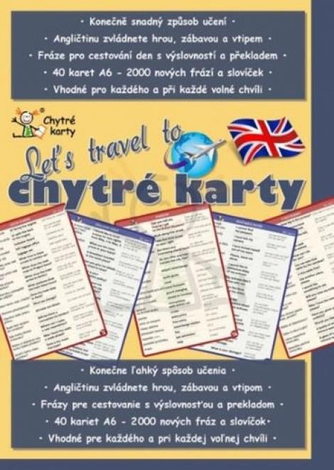 Chytré karty: Angličtina - Lets travel to