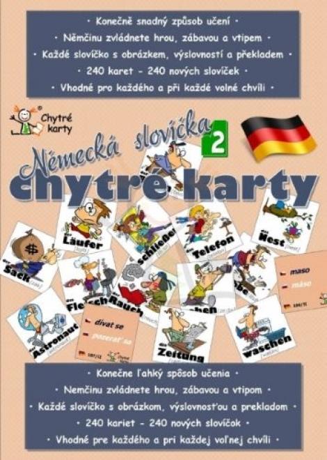 Chytré karty: Němčina - Německá slovíčka 2 - Alexandra Pomazalová