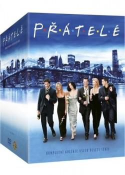 Přátelé 1-10. série Viva balení - 39 DVD -