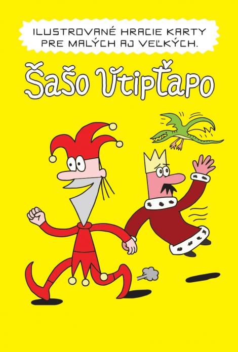 Šašo Vtipťapo - ilustrované hracie karty -