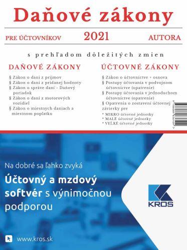 Daňové zákony 2021 pre účtovníkov