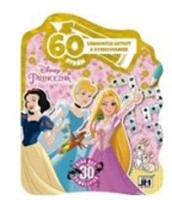 60 strán zábavných aktivít a vymaľovaniek - Princezná
