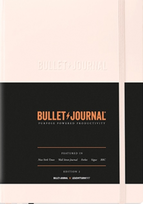 Bullet Journal (Blush - staroružový) -