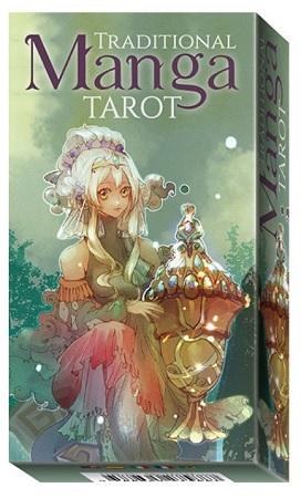 Traditional Manga Tarot - 78 Tarot Cards with instructions