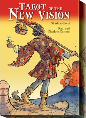 Tarot of the New Vision - Mini Tarot - 78 Tarot Cards with Instructions