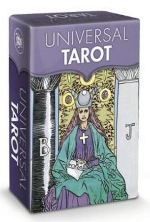 Universal Tarot - Mini Tarot - 78 Tarot Cards with Instruction