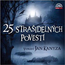 25 strašidelných pověstí (1x Audio na CD - MP3) -