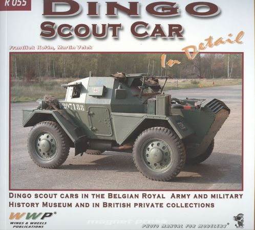 Dingo Scout Car in detail