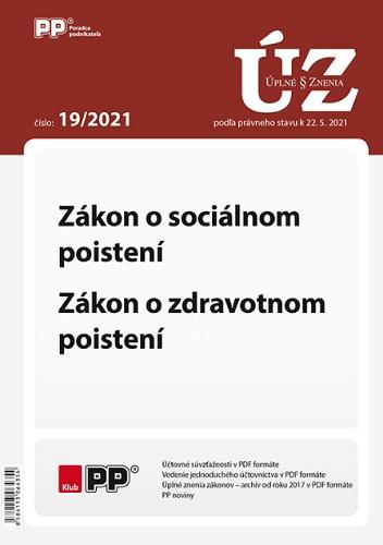 UZZ 19/2021 Zákon o sociálnom poistení, Zákon o zdravotnom poistení