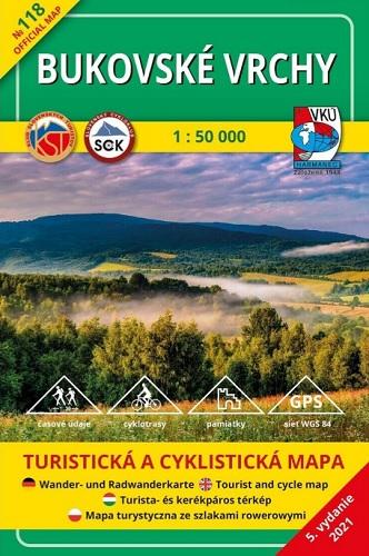 Bukovské vrchy 1:50 000 (5.vydanie)