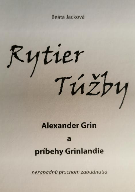 Rytier Túžby - Alexander Grin