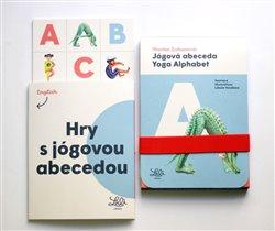 Jógová abeceda / Yoga Alphabet (1x sada karet, 1x sešitová příloha)