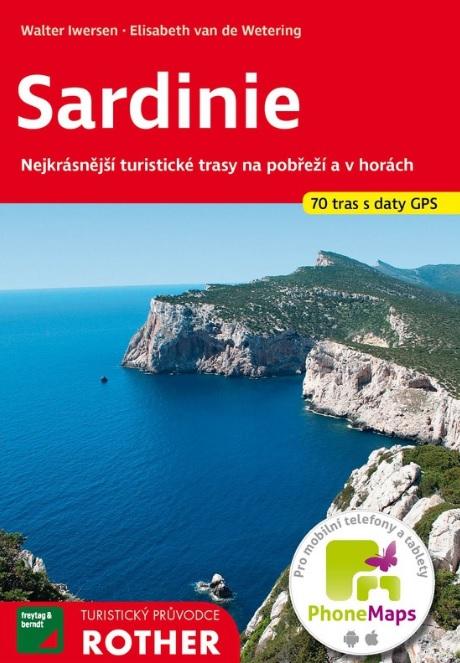 Sardinie - turistický průvodce Rother (70 tras s daty GPS)