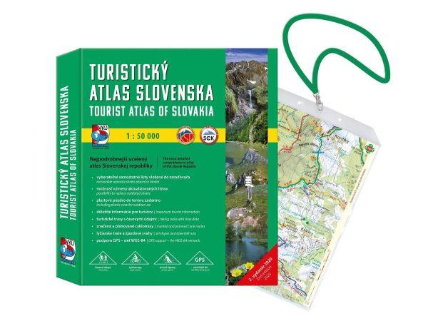 Turistický atlas Slovenska 1:50 000