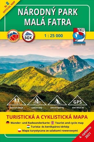 Národný park Malá Fatra 1:25 000 (4.vydanie)