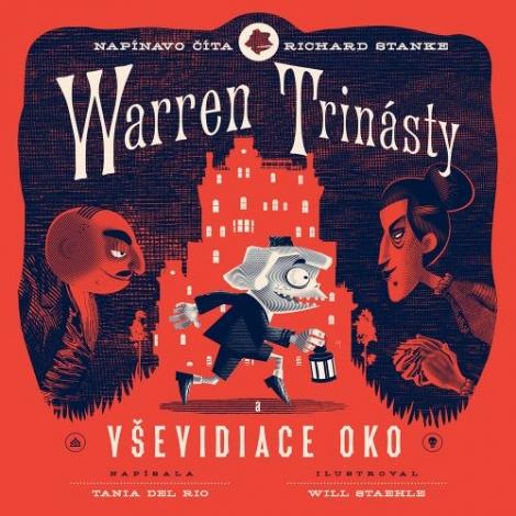 Warren trinásty a Vševidiace oko CD (audiokniha) -