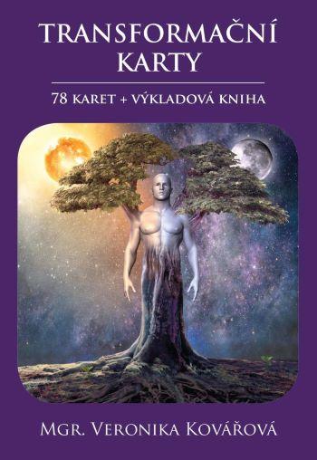 Transformační karty (78 karet + výkladová kniha)