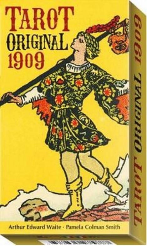 Tarot Original 1909 - 78 Tarot Cards with Instructions by Sasha Graham