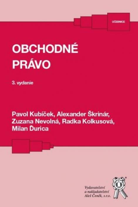 Obchodné právo (3. vydanie)