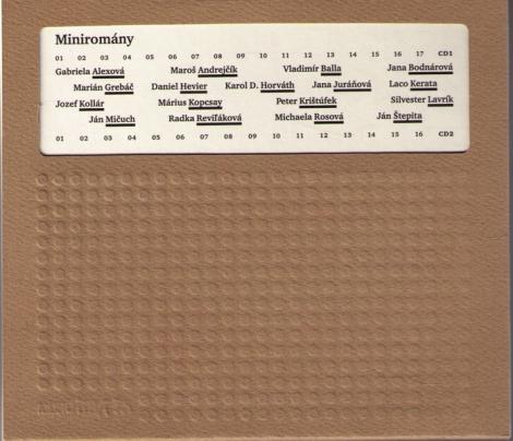 MINIROMÁNY (kniha + 2 CD) - Kolektív autorov