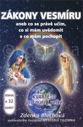 ZÁKONY VESMÍRU (BROŽÚRA + 32 KARET) - Blechová Zdenka
