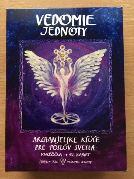 Vedomie jednoty (karty + knižka + škatuľka) - Janka Sofia Thomková